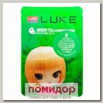 Маска для лица тканевая с экстрактом Зеленого чая LUKE Green Tea Essence Mask