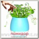 Умный музыкальный горшок для цветов Smart Music Flowerpot Голубой