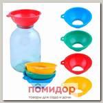Воронка для банок с широким горлышком (цвета в ассортименте)