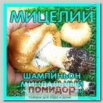 Мицелий зерновой Шампиньон Миндальный, 150 мл