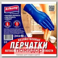 Перчатки Латексные Максимальной плотности AV Glov PROFESSIONAL (размер L), 1 пара