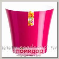 Горшок АРТЕ Лиловый-Белый, 1,2 л