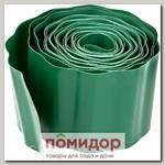 Лента бордюрная Зеленая GRINDA, 10х900 см