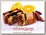 Мыло ручной работы Апельсин с Корицей, 100 г