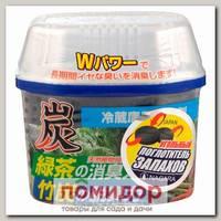 Древесный уголь для устранения запаха в холодильнике Nagara, 160 г