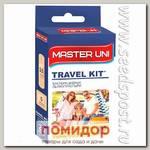 Лейкопластырь Master Uni Travel Kit бактерицидный Дорожный, 20 шт.