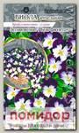 Виола ампельная Летняя волна Бело-Фиолетовая F1, 5 шт. PanAmerican Seeds Профессиональные семена