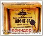 Чайный напиток Алфит-20 Для профилактики и лечения простатита, 60 брикетов х 2 г