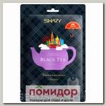 Маска для лица тканевая Ферментная Укрепляющая BLACK TEA, 25 г