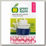 Адаптер GREEN APPLE для шланга 19 мм (3/4) с наружной резьбой, пластик (GAEA20-12)