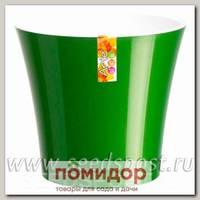 Горшок АРТЕ Зеленое золото-Белый, 0,6 л